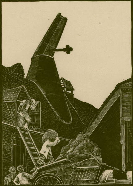 Artist Clare Leighton: The Malthouse, (BPL 1), 1923