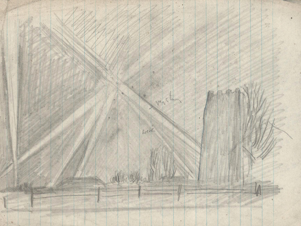 Artist Stanley Lewis: Searchlights