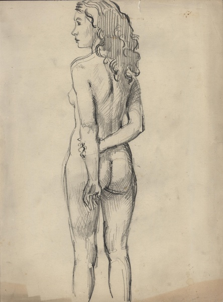 Nude art rear
