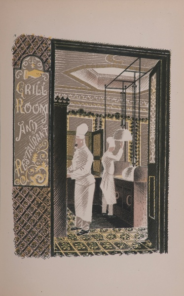 Artist Eric Ravilious: Grill Room and Restaurant