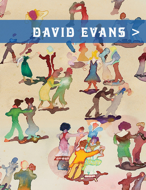 David Evans (1929-1988) - The Period Charm of Thatcher's Britain