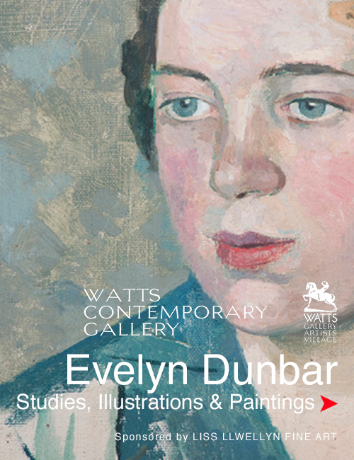 Evelyn Dunbar at The Watts Gallery