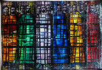 Artist Gerald Anthony Coles: Design for stained glass window