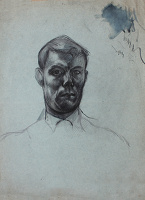 Artist Alan Sorrell: Self Portrait