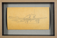 Artist Sir Thomas Monnington: Design for an aircraft