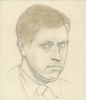 Artist Percy Horton: Self-Portait, circa 1930