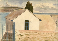 Artist Hubert Arthur Finney: Swanage, Dorset, Peveril Point
