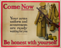 Artist English School: Come Now Be honest with yourself, 1915