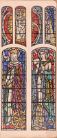 Artist Francis Spear: Design for glass stained window, early 1940s