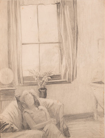 Artist Harry Epworth Allen: An afternoon sleep