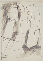 Artist John Cecil Stephenson: Study for Fugue, circa 1953