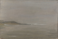 Artist John Moody: Houlgate, Normandy, in Mist, 12th Sept 26