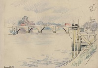 Artist Mary Adshead: Richmond Bridge