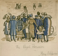 Artist Mary Adshead: The Royal Procession