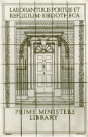 Artist Robert Austin: Prime Ministers Library (small version), 1931