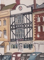 Artist Rudolph Sauter: The Retreat Pub Ledbury