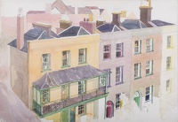 Artist Rudolph Sauter: Holly Terrace, Highgate West Hill, London