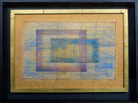 Artist Sir Thomas Monnington: Study 1 for Reciprocity, c. 1970