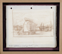 Artist Sir Thomas Monnington: Study for Mobile Radar Unit, (IWM) , 1944