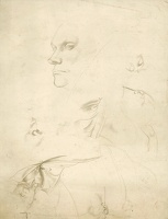Artist Sir Thomas Monnington: Sheet of studies