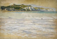 Artist Stanley Charles Rowles: Two Vignettes of Dover