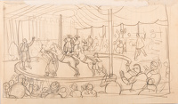 Artist Stanley Lewis: At the circus