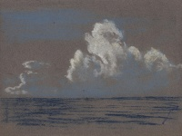 Artist Stephen Bone: Cloud study