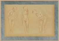 Artist Charles James Theriat: Nude studies