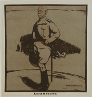 Artist William Nicholson: Lord Roberts, circa 1902