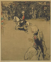 Artist William Nicholson: Lord Roberts on Horseback, circa 1900