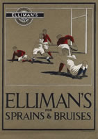 Artist R C Dafforn: Ellimans for Sprains and Bruises, April 1933
