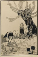 Artist Eileen D Campbell: The Song, illustration for the Willow Tree, circa 1920
