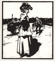 Artist William Nicholson: M is for Milkmaid