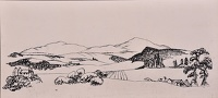 Artist Catherine Olive Moody: The Malvern Hills