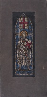 Artist Francis Spear: Saint George; design for stain glass window