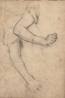Artist Albert de Belleroche: Study of arms and hands