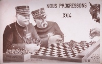 Artist French School: Nous Progressons, 1914