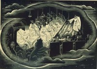 Artist Tom Chadwick: Heavenly Council, circa 1937