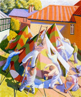 Artist James Tarr: Painting Tents