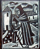 Artist David Jones: The Pilgrim (late 1920s)
