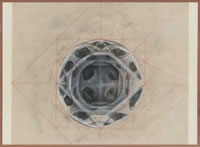 Artist Sir Thomas Monnington: Study for roundel, Bristol ceiling, circa 1953