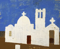 Artist Kenneth Rowntree: Greek Orthodox Church, 1960s