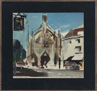 Artist Frank Wootton: Chichester Cross