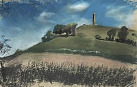 Artist Catherine Olive Moody: Tyndale Monument, Wootton-under-Edge