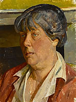 Artist Percy Horton: Portrait of the Artists wife