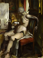Artist Victor Hume Moody: The Lay Figure, 1942