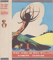 Artist Lillian May Bevis Rowles: Original design for The wind in the Willows