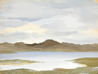 Artist Myles Tonks: Lake