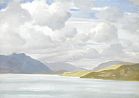 Artist Myles Tonks: Scottish landscape