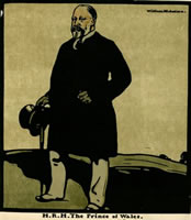 Artist William Nicholson: H.R.H. The Prince of Wales